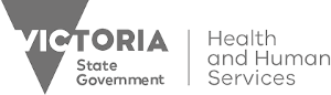 Department of Health and Human Services Victoria logo